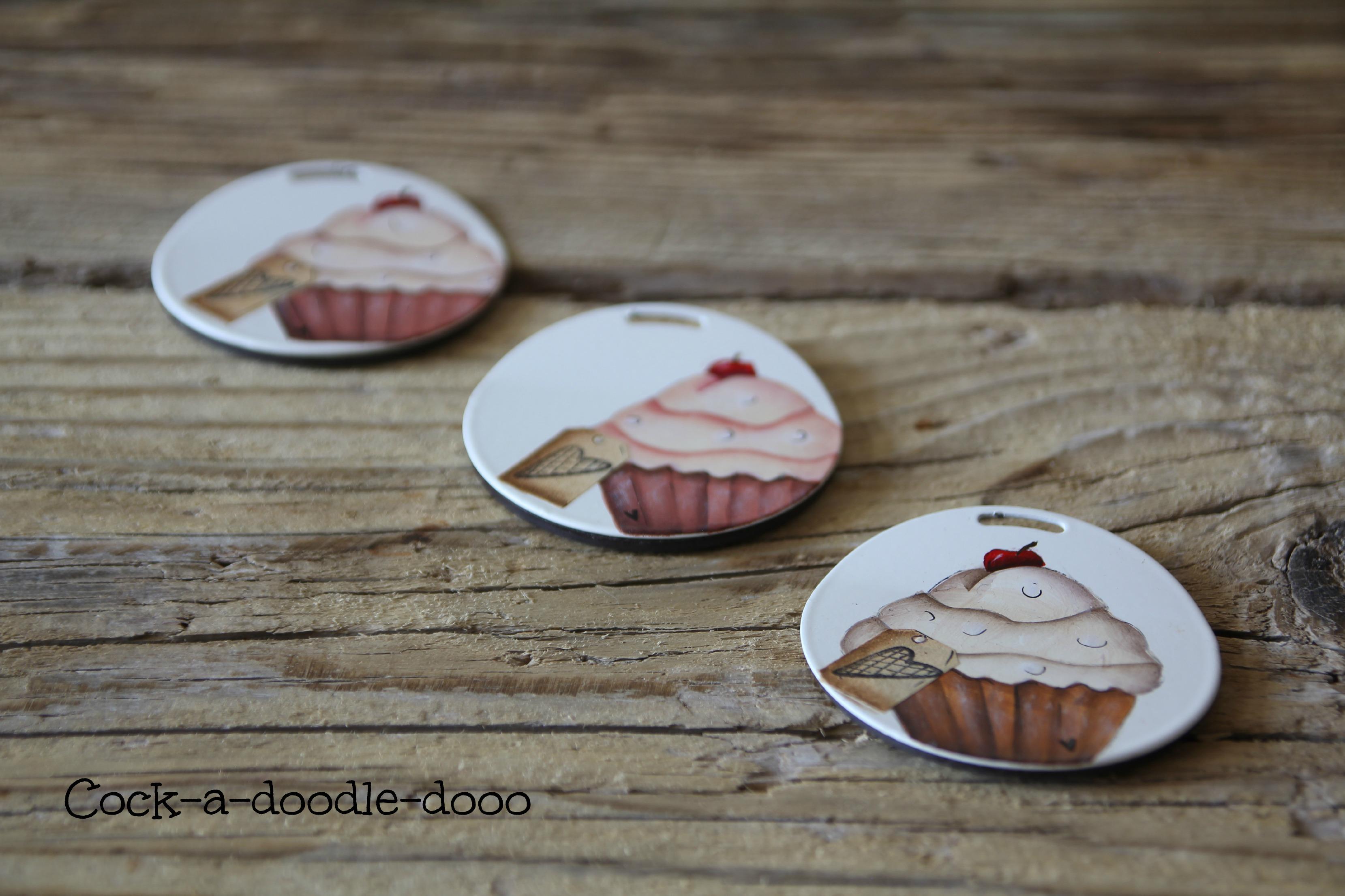 magneti cupcake cock-a-doodle-dooo 2