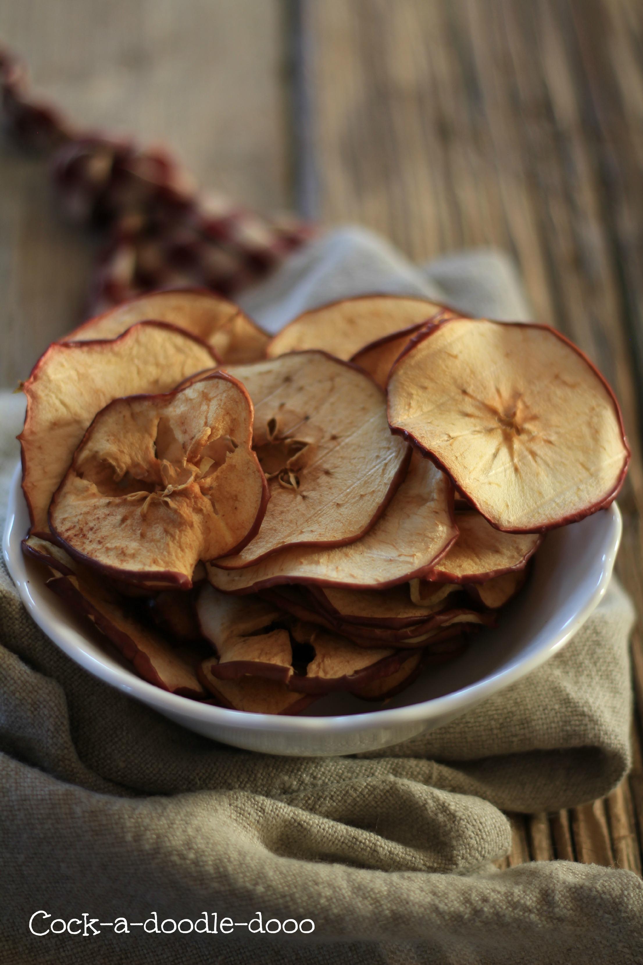 chips di mela alla cannella 1