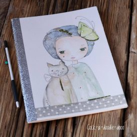 I am a cat lover - story teller Art book
