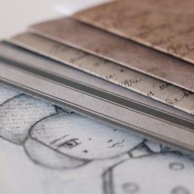 story teller art book - bianco e nero