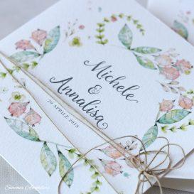 partecipazioni di nozze Annalisa e Michele